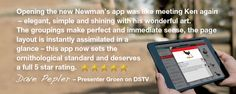 Newman's Birds of Southern Africa App