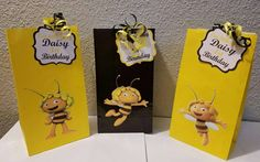 Maya the bee 12pc Goody bags by Brendapartyshop, $13.00 USD