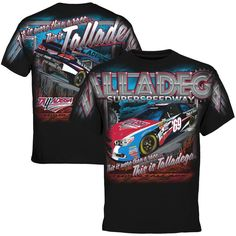 Talladega Superspeedway Track Total T-Shirt - Black