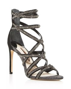 Glitter Sandals, Strappy Sandals, Gladiator Sandals, Shoes Sandals, Heels, Sophia Webster, Colorful Shoes, Cute Shoes, Crystals