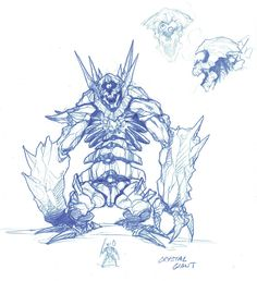 Wow wrath monster crystal giant - World of warcraft artwork