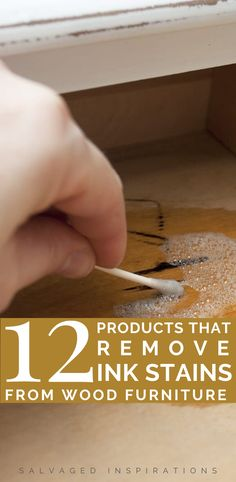 12 Products That Remove Ink Stains From wood Furniture | How To Remove Ink Stains On Wood | Salvaged Inspirations  #siblog #salvagedinspirations #paintedfurniture #furniturepainting #DIYfurniture #furniturepaintingtutorials #howto #furnitureartist #furnitureflip #salvagedfurniture #furnituremakeover #beforeandafterfurnuture #paintedfurnituredieas #dixiebellepaint #redesignwithprima Salvaged Furniture, Furniture Repair, Furniture Makeover, Painted Furniture, Diy Furniture, Ink Stain Removal, Remove Permanent Marker, Ink Stains, Dixie Belle Paint
