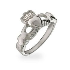AFFORDABLE Sterling Silver Claddagh Ring