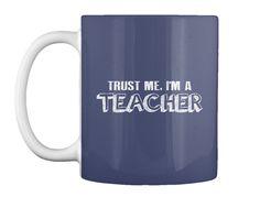 Teacher T Shirt Gifts   Women's Tshirt Dk Navy Mug Front