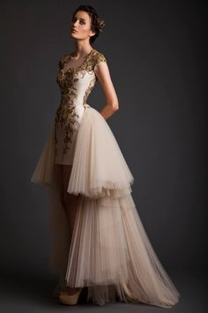 Krikor Jabotian Spring/Summer 2014 #dress #fabulous #gown #luxury #style