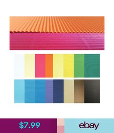 Plain corrugated sheets from Kite Packaging made from strong double ...