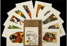 A Set of 10 Serigraph Art Prints by Thota Vaikuntam on Paper. Famous Indian Artists, Limited Edition Prints, Female Characters, Art Gallery, Memories, Art Prints, Artwork, Paintings, Memoirs