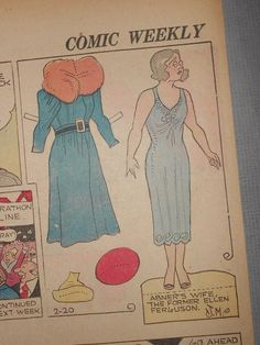 US $6.00 New in Dolls & Bears, Paper Dolls, Vintage