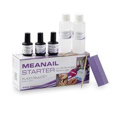 Kit MeaNail - Lámpara UV de 4 luces de Neón para manicura permanente + 7 accesorios: Primer + Cleaner + Remover + Top coat + Moldeador de cutículas + pulidora + aceite de cutítulas: Amazon.es: Belleza