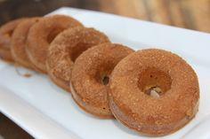 coconut flour cinnamon donuts