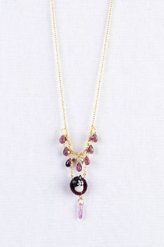 Collier chat damelot by animal #collier #fantaisie #chat #baroque