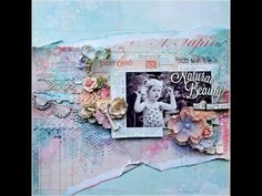 Shimmerz Mixed Media Layout - Kelly Foster (Video Tutorial)