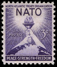 Apr. 4, 1949: Twelve nations, including the United States, signed the North Atlantic Treaty.