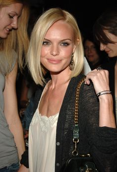 Kate Bosworth - almost makes me want to have a bob again!.. almost