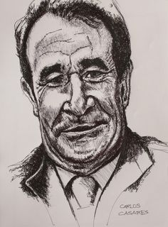 Retrato de Carlos Casares, autor homenaxeado na Letras Galegas 2017