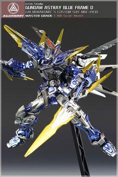 GSG STUDIO's MG 1/100 Gundam Astray Blue Frame D: Big Size Images, Info http://www.gunjap.net/site/?p=278032