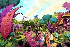 東京ディズニーランド ファンタジーランド 『ふしぎの国のアリス』をテーマとしたエリア