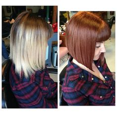 Haircut fix and complete change with the colour. Love it! #haircut #bob #shoreditch #hoxton #rockalily