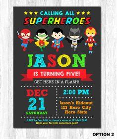 Monsters Inc Invitation Baby Shower Printable Monster Superhero Birthday