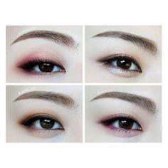 Makeup ideas asian eyes eyebrows Ideas for 2019 Korean Makeup Tips, Korean Makeup Look, Korean Makeup Tutorials, Asian Eye Makeup, Makeup Inspo, Makeup Inspiration, Beauty Makeup, Japanese Makeup, Asian Eyes