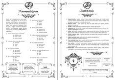 Program, Bullet Journal, Weddings, Wedding, Marriage