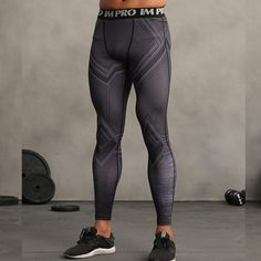 Black Panther 3D Printed Legging Men Skin Tights Compression Pants Crossfit Bodybuilding Fitness Skinny Trousers Brand. Yesterday's price: US $19.98 (17.53 EUR). Today's price: US $13.59 (11.92 EUR). Discount: 32%.