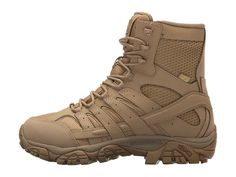 Merrell Work Moab 2 8 Tactical Waterproof Women's Lace-up Boots Coyote