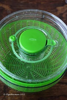 OXO Salad Spinner Giveaway. Winner announced 4/30/12. Go enter for a chance to win ;)