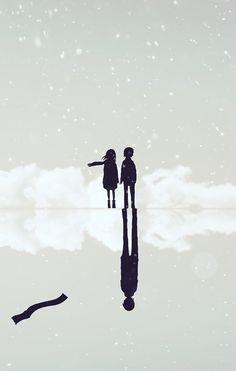 boku dake ga inai machi, erased, satoru fujinuma, kayo hinazuki This seinen is just one of the best anime I have ever seen 😍 Manga Anime, Noragami, Anime Scenery, Art, Your Lie In April, Pictures, Anime Shows, Fan Art, Manga