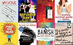 Eight of the books on the Reading Well for Young People scheme
