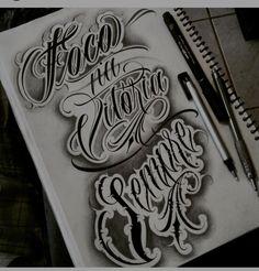 Ante braço Tattoo Lettering Design, Chicano Lettering, Tattoo Designs, Graffiti Tattoo, Graffiti Lettering, Text Tattoo, Tattoo Fonts, Life Tattoos, New Tattoos