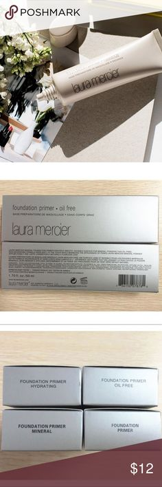 Laura Mercier Foundation Primer •NEW DISCOUNTED• SEPHORA LAURA MERCIER FOUNDATION PRIMER. DIFFERENT OPTIONS AVAILABLE! ❤***PLEASE ASK ABOUT OUR SHIPPING AND PAYMENT METHODS BEFORE PURCHASING*** Sephora Makeup Face Primer