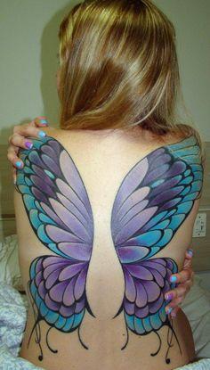 Butterfly wings tatoo. #tattoo #tattoos #ink