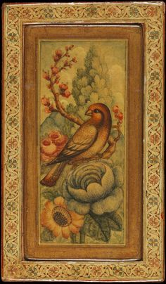 Mirror-Case  Qajar Period, Iran  19th century  Size:10.5 x 7.2 cm  Sold at Bonhams auction  Sources: [ 1 ], [ 2 ], [ 3 ]   قاب آینه با ت...