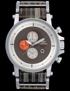 Vestal Plexi: Acetate Watch