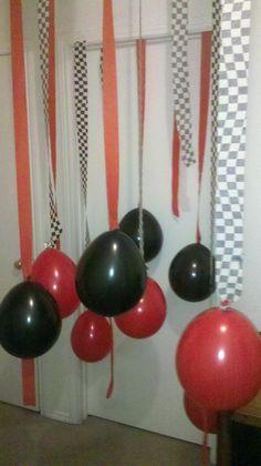 Mason's door way for his birthday (: