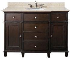 Attirant Classic Bathroom Vanities Walnut Finish Traditional Bathroom Vanities  And Sink Consoles