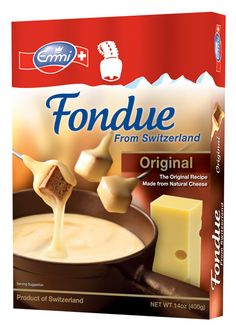 Giveaway!! Day 4: Emmi Cheese and Chocolate FONDUE!
