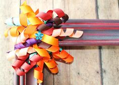 Fall Colored Korker Ribbon Clip. by CappyClips on Etsy, $3.50