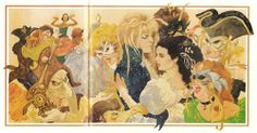 Sarah being swept around at the ball. A scan...   Labyrinth Nook