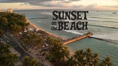Sunset on the Beach 2014 with the Hawaii 5-0 Cast! It was awesome to be there