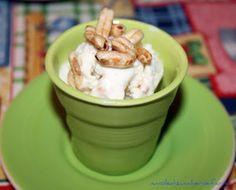 white chocolate and kamut ice cream