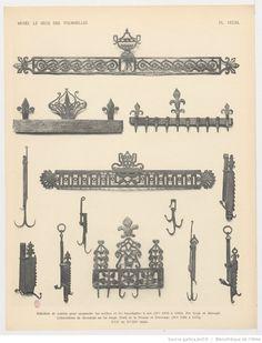 1000 images about ustensiles en fer de foyer et de cuisine de la nouvelle france on pinterest. Black Bedroom Furniture Sets. Home Design Ideas