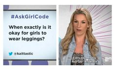 Becuase there is a difference between leggings and tights, but there's no difference between leggings and skinny jeans.