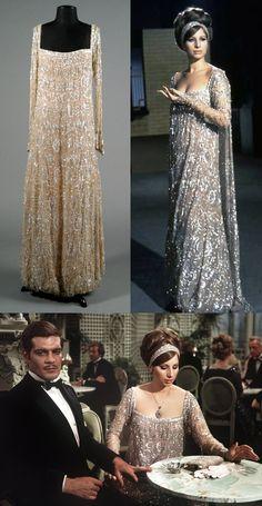 Photos of Sharaff designed dress for Funny Girl - I LOVED Barbra's dresses from Funny Girl