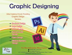 We understand the importance of being precise !!! #ZebaCreations is a #Graphic design company in #Hyderabad, offering #Designingservices in web media. See more @ http://www.zebacreations.com/