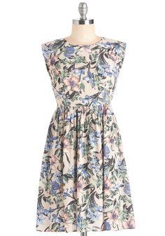 Garden Marvels Dress in Blush | Mod Retro Vintage Dresses | ModCloth.com