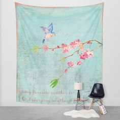 My favorite weather Wall Tapestry by Better HOME | Society6