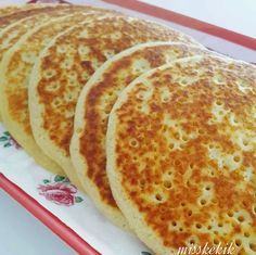 """The post """"Ingredients 1 pc egg 3 tablespoons liquid oil 1 teaspoon salt 1 teaspoon baking powder 2 cup milk 2 cup flour"""" appeared first on Pink Unicorn Breakfast Items, Breakfast Recipes, Pancake Recipes, Turkish Recipes, Beignets, Desert Recipes, No Cook Meals, My Favorite Food, I Foods"""