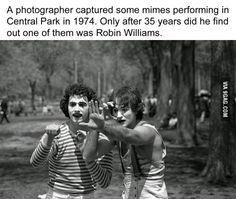 Perhaps the only mime who captivated millions.